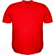 Поло лакоста на манжете красного цвета Annex