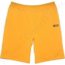 Трикотажные шорты горчичного цвета Big Team