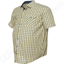 Рубашка короткий рукав в клетку Big Team 2
