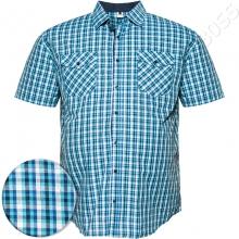 Рубашка короткий рукав в клетку Big Team