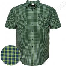 Рубашка в клетку зелёного цвета Big Team