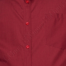 Рубашка короткий рукав бордового цвета Big Team 1