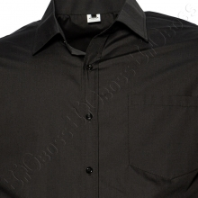 Рубашка короткий рукав чёрного цвета Big Team 1