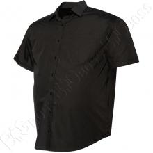 Рубашка короткий рукав чёрного цвета Big Team 2