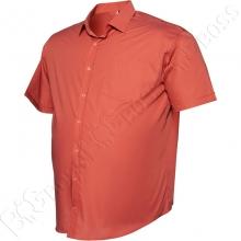 Рубашка короткий рукав цвета терракот Big Team 2