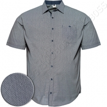 Рубашка короткий рукав в декор Big Team
