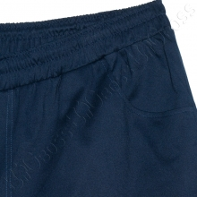 Весенние штаны на резинке тёмно синего цвета Big Team  2