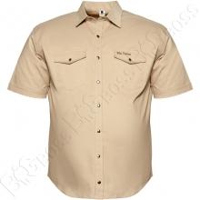 Коттоновая рубашка на кнопках Big Team