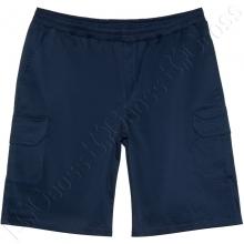 Коттоновые шорты с накладными карманами Big Team