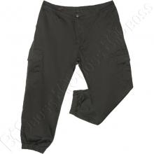 Осенние штаны на манжетах цвета хаки Dekons