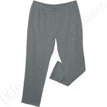 Трикотажные спортивные штаны серого цвета (ткань сота) Big Team