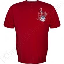 Футболка бордового цвета Polo Pepe