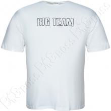 Футболка белого цвета Big Team