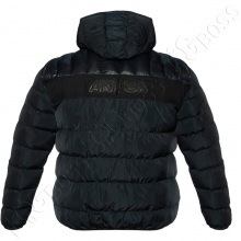 Зимняя куртка тёмно синего цвета Olser 4