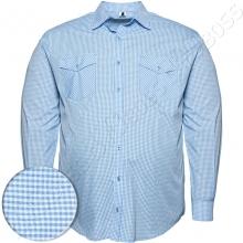 Рубашка в мелкую клетку Big Team