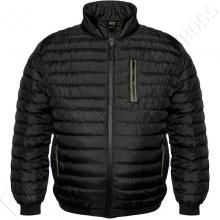 Куртка чёрного цвета на позднюю осень Dekons