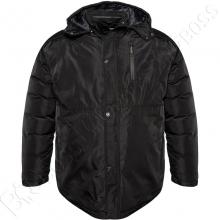 Зимняя куртка прямого кроя чёрного цвета Annex