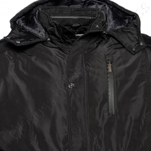 Зимняя куртка прямого кроя чёрного цвета Annex 1