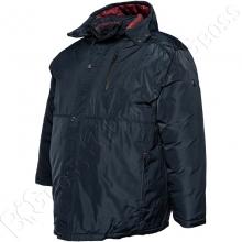 Зимняя куртка прямого кроя тёмно синего цвета Annex 2