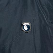 Зимняя куртка прямого кроя тёмно синего цвета Annex 4