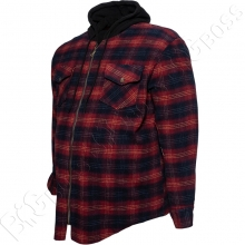 Тёплая рубашка с капюшоном Dekons 3