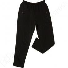Тёплые (зимние) спортивные штаны чёрного цвета Annex