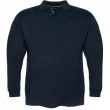 Футболка поло (прямого кроя) тёмно синего цвета Borcan Club